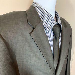 Vincenzo Le Collezioni Gray Suit Jacket 40 R
